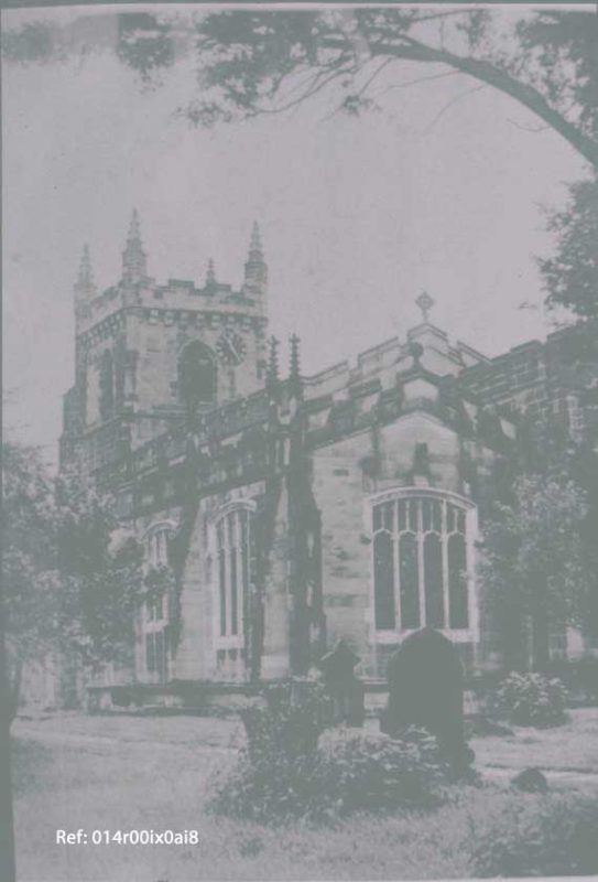 St. Oswald's Church, south-east view, after 1937