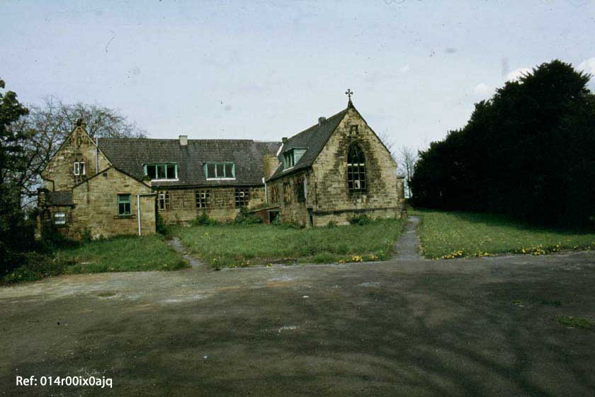 The National School, methley, rear view