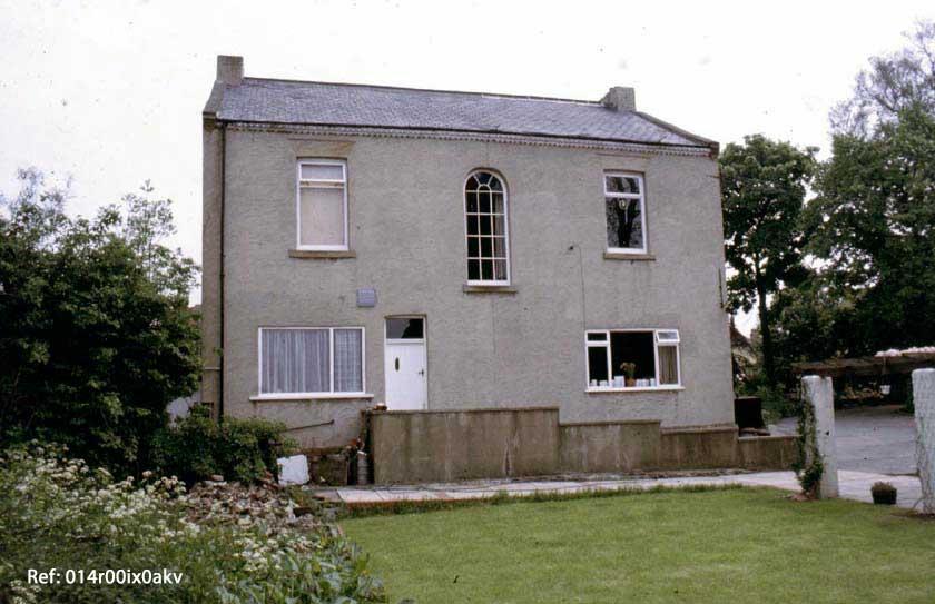 Bond House, rear view