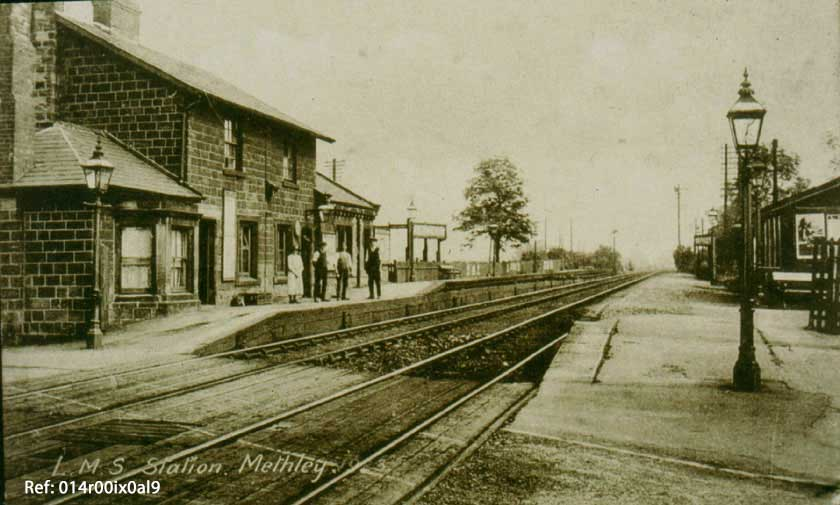 Methley LMS Station, Woodrow, 1920.