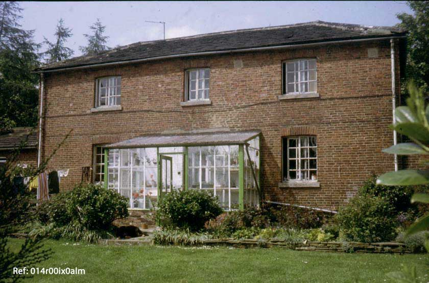 Garden House, front view, 1983