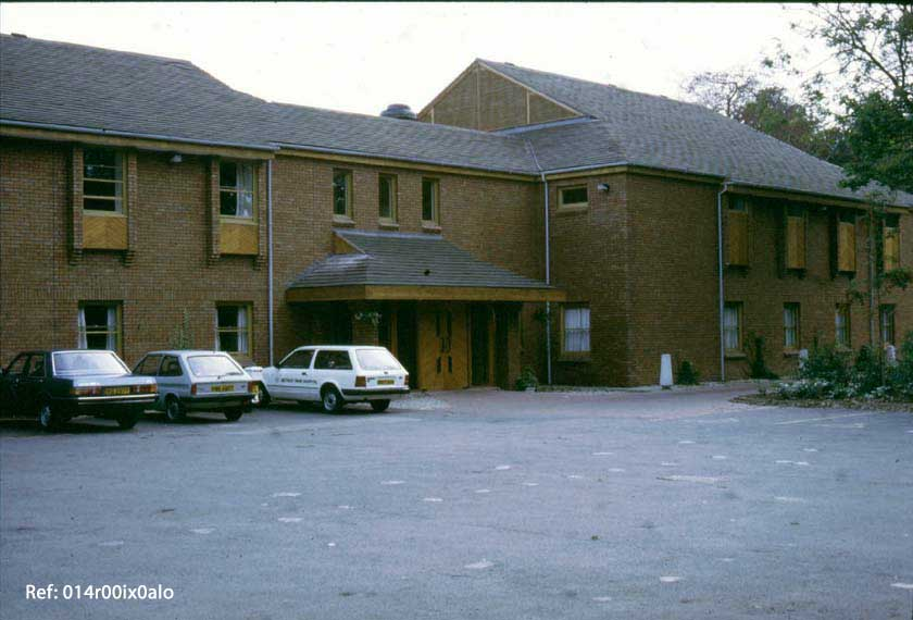 Methley Park Hospital, front view, 1984