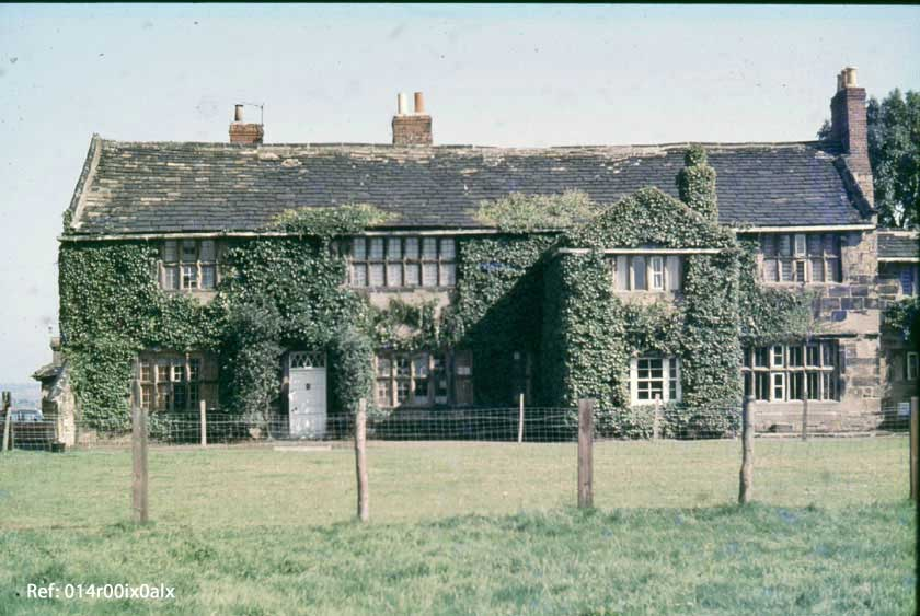 Clumpcliffe House, front view 1982