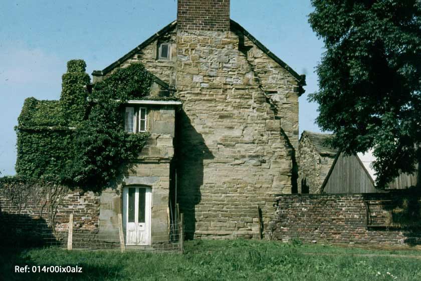 East gable of Clumpcliffe Farm House