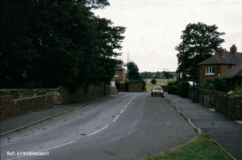 Mickletown Road, looking south, 1993.