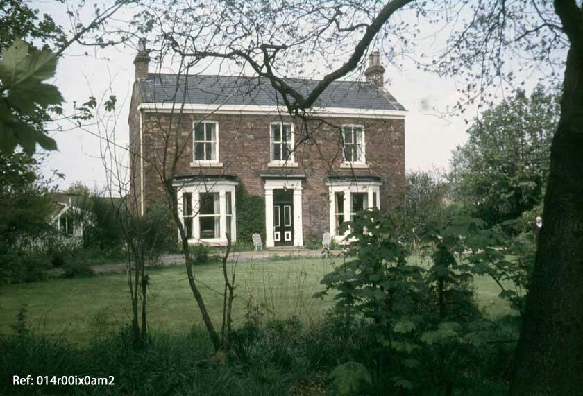 Smirthwaite House, front view, 1980s.