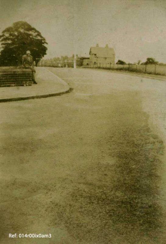 Savile Road Corner, 1930