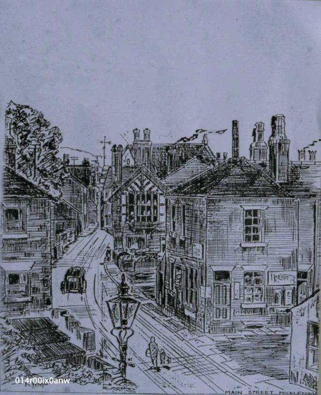 Stocks Hill and Main Street, 1930s