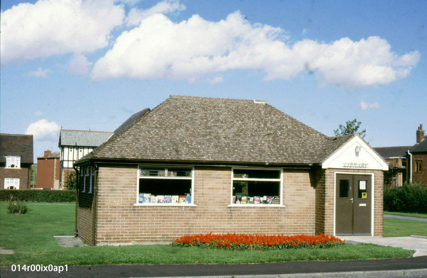 Methley Public Library, Savile Road, July 1987.