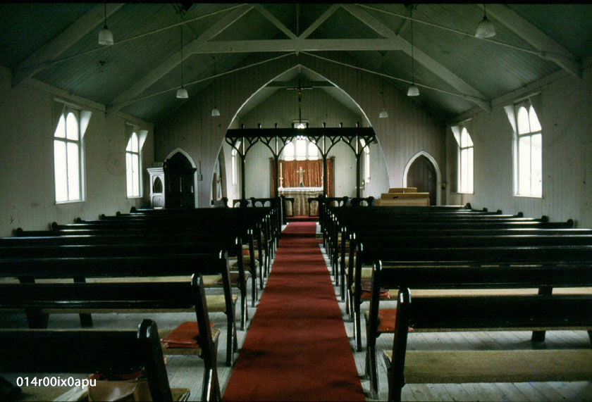 Interior of St. Margaret's Church 1982.