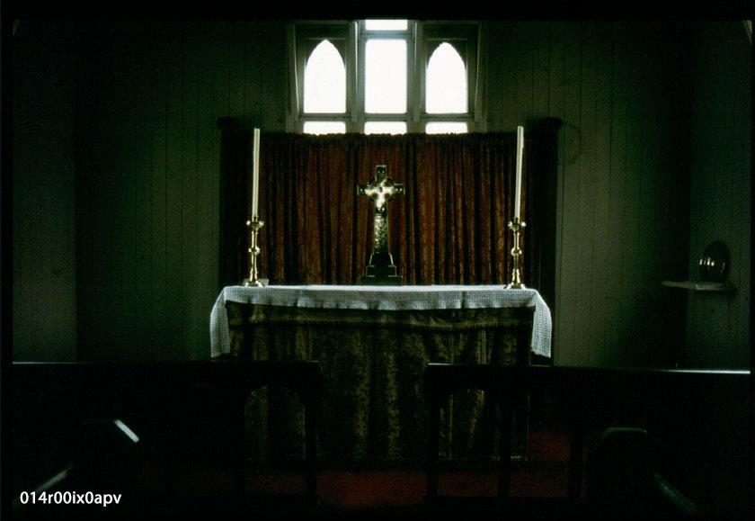 St. Margaret's Church Altar.