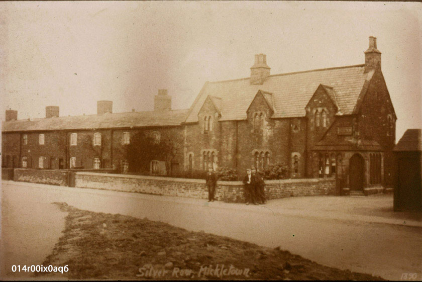 Silver Row, Lower Mickletown, 1911