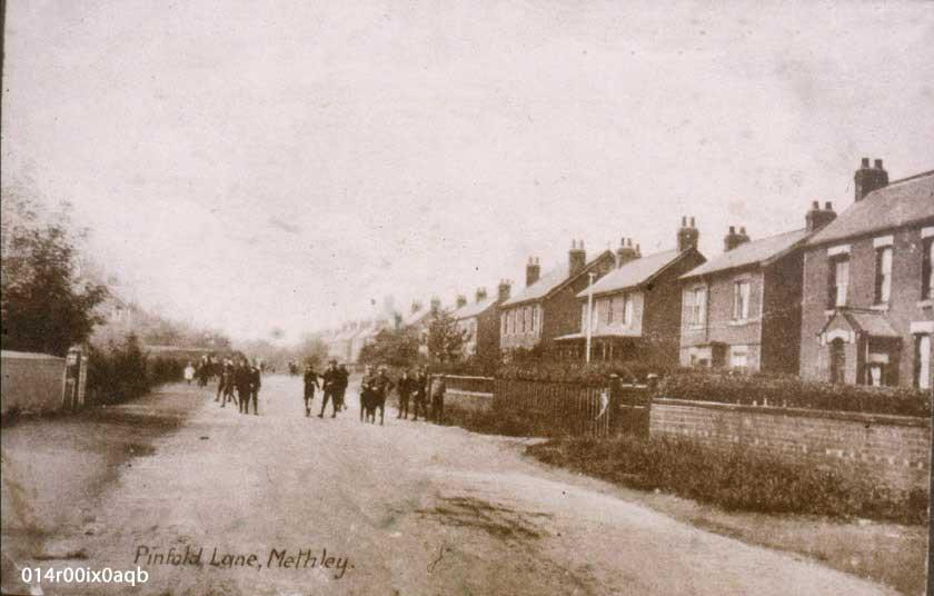 Pinfold Lane c.1912