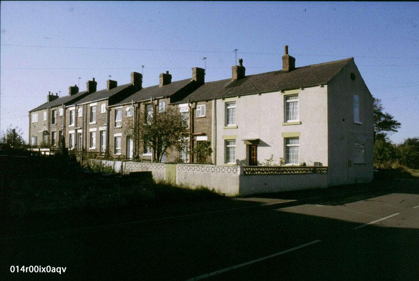 Greenfield Terrace, Lower Mickletown Road, 1983