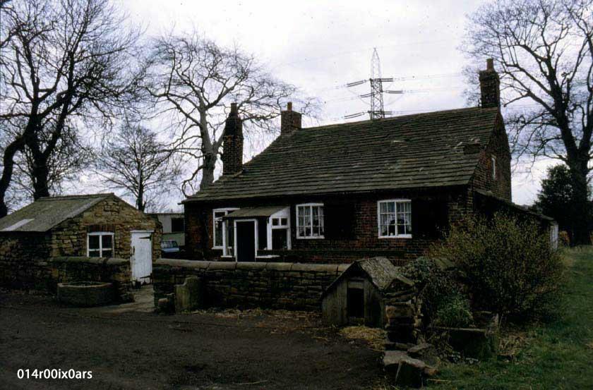 Willow Grove Farm, rear view, 1983