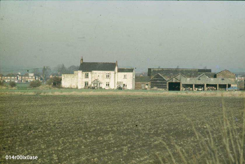 A view from the A639 of the farm.
