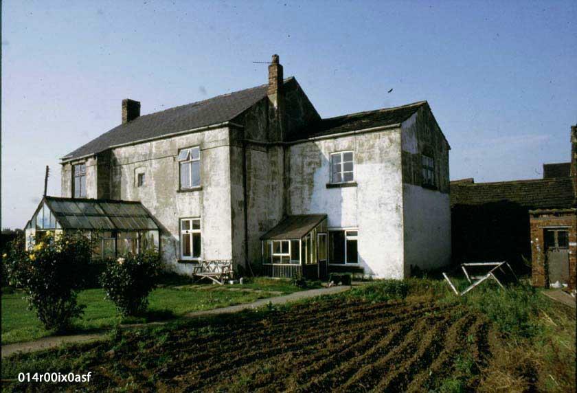 A close up of Moorhouse farm 1985