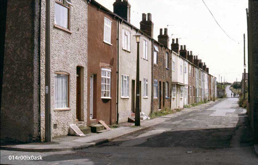 Front view of Green Row (Long Row) 1982