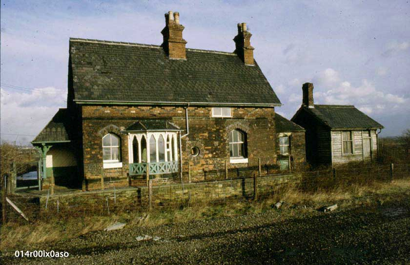 """Top"" Station-Master's House, Methley Junction."