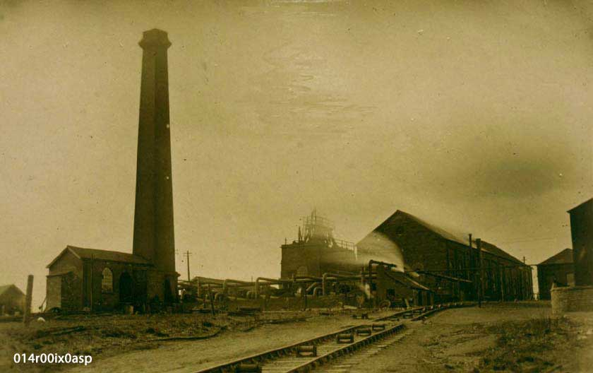 Methley Junction Pit, early 1900s.