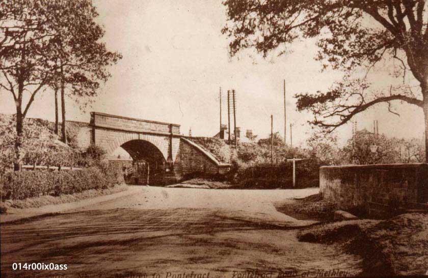 Pinder Green Bridge c.1910.